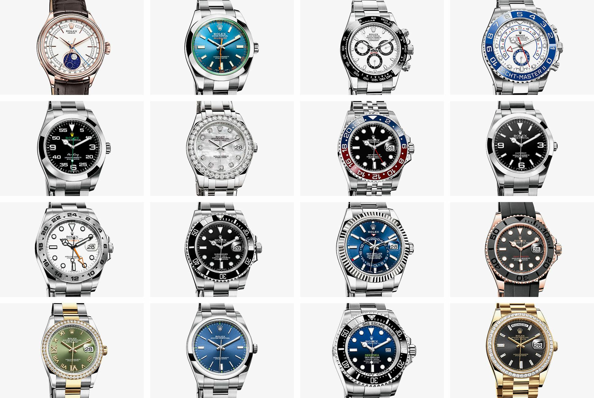 Rolex series view